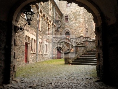 Braunfels Castle Gate Germany
