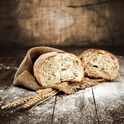 Wall mural bread