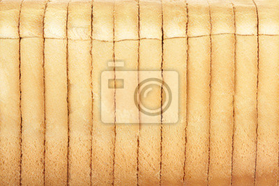 Wall mural Bread slices background