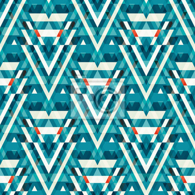 bright seamless geometric pattern for your design quality illustration