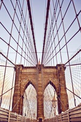 Wall mural Brooklyn Bridge in New York