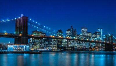 Wall mural Brooklyn Bridge NYC Skyline
