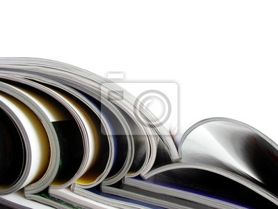 Bunch of magazines