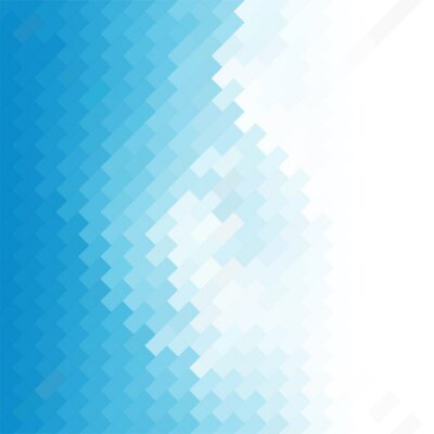 Wall mural business concept abstract blue background