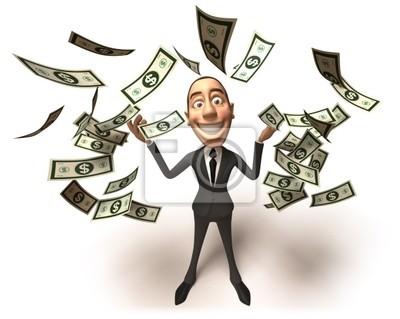 Businessman riche