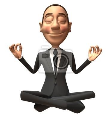 Businessman zen