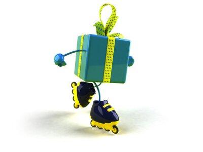 Cadeau en roller