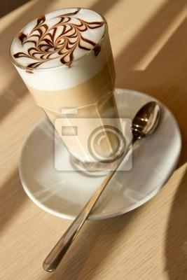 cafe latte at restoran
