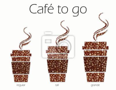 Café To Go sizes