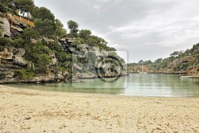 Cala Pi beach off-season