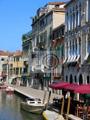 Canal Buildings Venice Italy