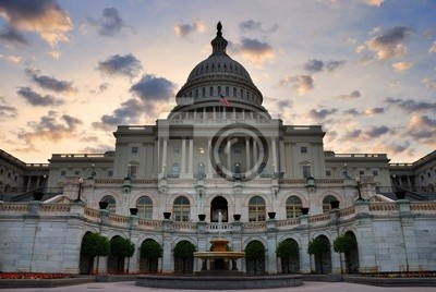 Capitol Hill Building closeup, Washington DC
