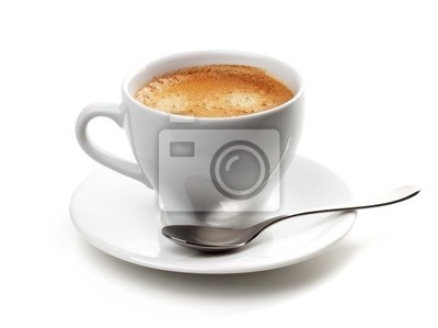 Wall mural Cappuccino cup