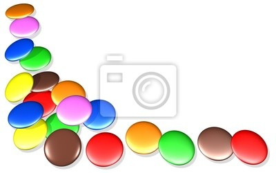 Caramelle Confetti Colorate-Colored Sweets Candies Background-2
