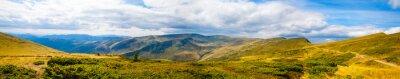 Wall mural Carpathian mountains panoramic