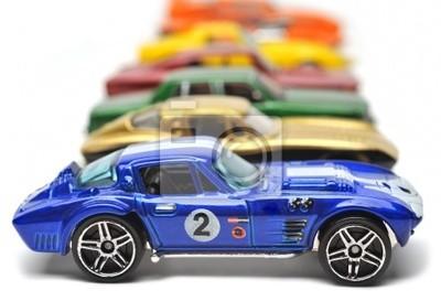Wall mural cars