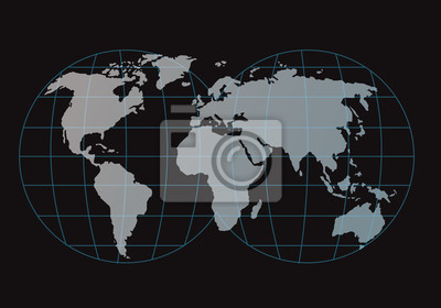 carte et globe