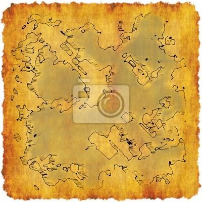 Wall mural Cartography