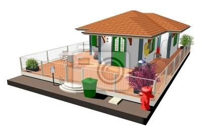 Casa di Campagna-Country House-3D-2