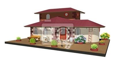 Casa di Campagna-Country House-3D