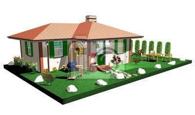 Casa di Campagna-Country House-3D-5