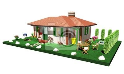 Casa di Campagna-Country House-3D-6
