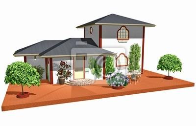 Casa Residenza Bianca-Home Residence-3D