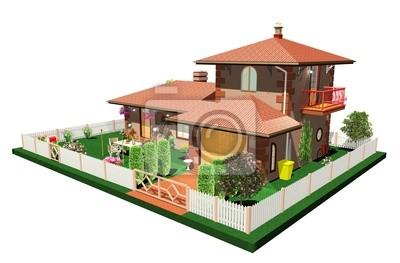 Casa Vacanze Estive-Summertime House-3d-1