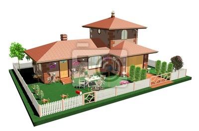 Casa Vacanze Estive-Summertime House-3d-2