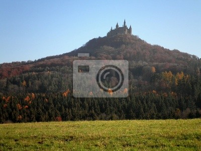 Wall mural Castle on the Hill