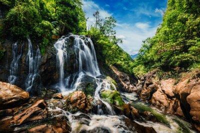 Wall mural Cat-Cat waterfall, Vietnam