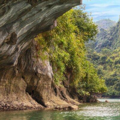 Wall mural Caves of Halong bay