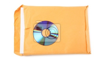 CD and document, concept of digital file