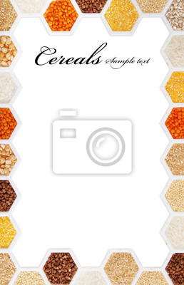 Wall mural Cereals