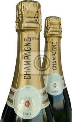 Wall mural champagnes