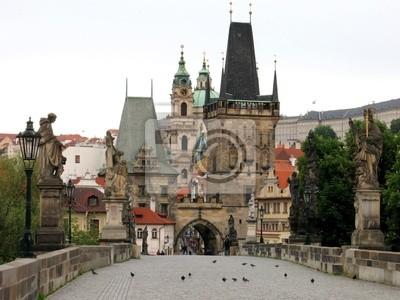 Charles Bridge Tower Prague