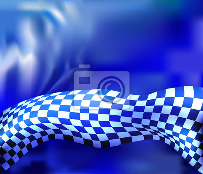 checkered flag race background vector