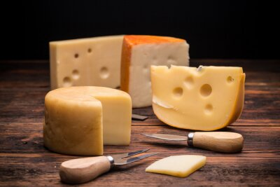 Wall mural Cheese