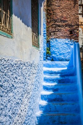 Wall mural Chefchaouen Old Medina, Morocco, Africa