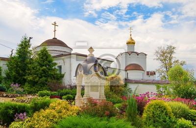 Chernoostrovsky convent in the town of Maloyaroslavets