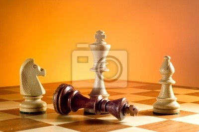 Wall mural chess