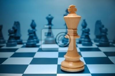 Chess white king