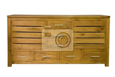 Chest with drawers on a white background
