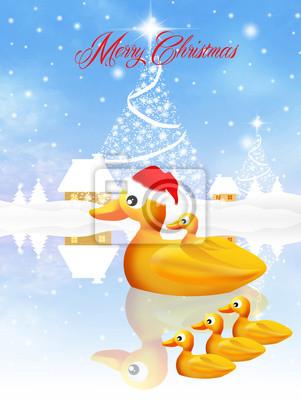 Chick at Christmas