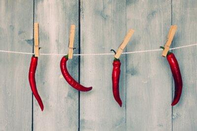 Wall mural Chili pepper