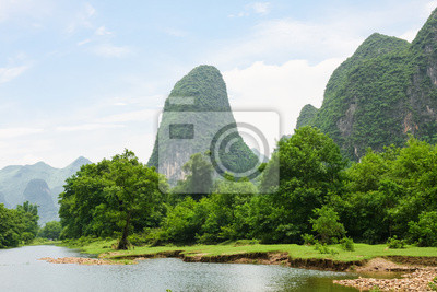 China Li river landscape