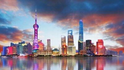 Wall mural China - Shangahi skyline