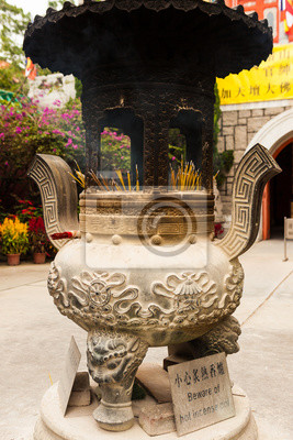 Chinese incense pot