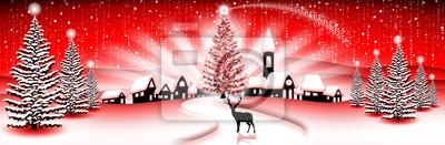 - Christmas Landscape Christmas Landscape Paysage - Noël -Banner