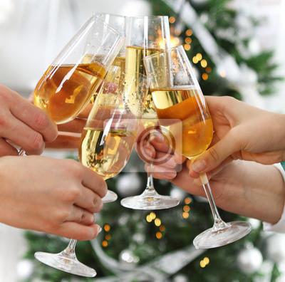 Christmas or New Year celebration